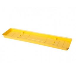 Podmiska pod truhlík VERBENA 60cm žltá