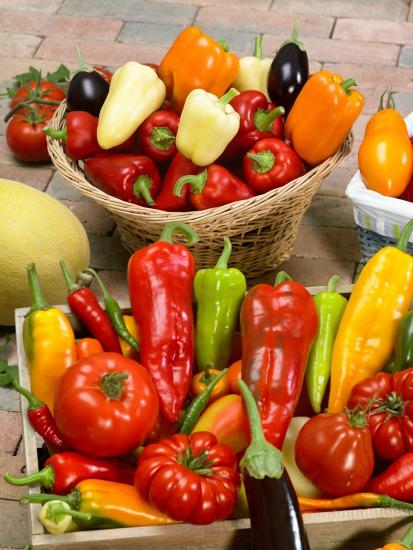 Zelenina pestovaná v debničkách a v rôznych nádobách