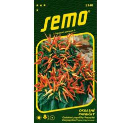 Capsicum sp. / Okrasné papričky ´ZMES´, bal. 0,3 g