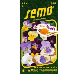 Viola cornuta hybridy / Fialka ostrohatá JEDLÉ KVETY, 0,3 g