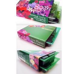 Kolekcia 12 rastlín pre závesnú tašku, alebo tubu, pack 12 ks sadbovačov