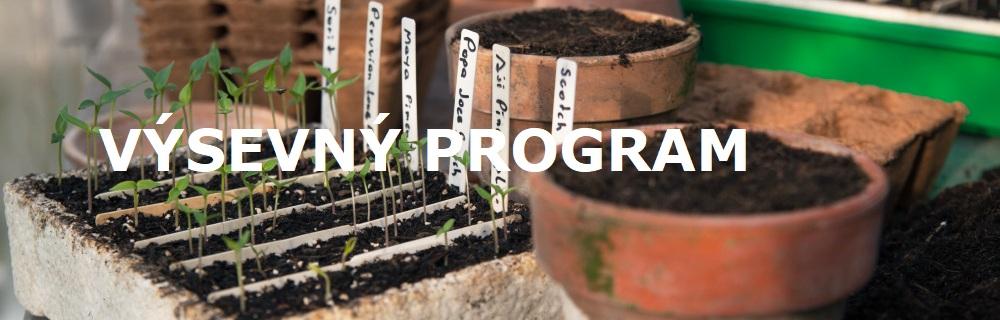 Výsevný program