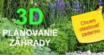 3D plánovanie záhrady